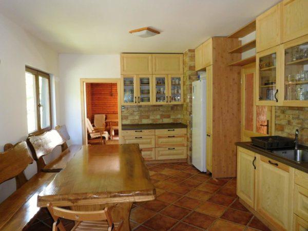 Kuchyne hajenka kolibiska Beskydy